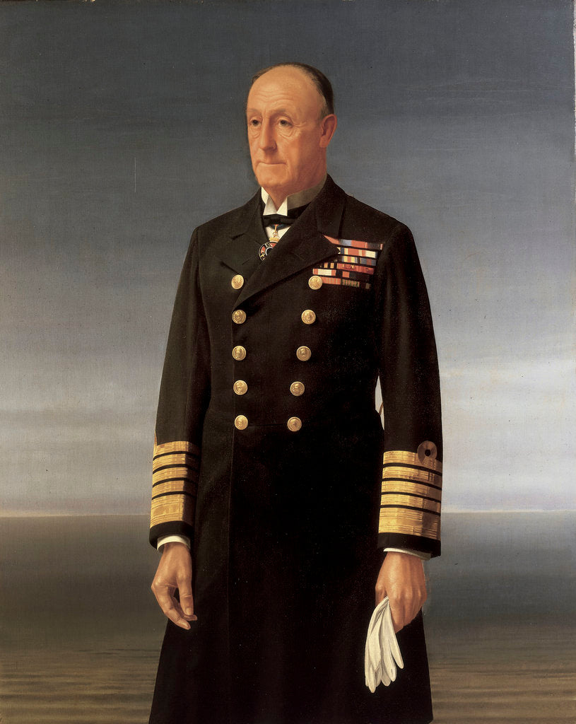 Detail of Admiral of the Fleet John Jellicoe, 1st Earl Jellicoe (1859-1935) by Walter Thomas Monnington