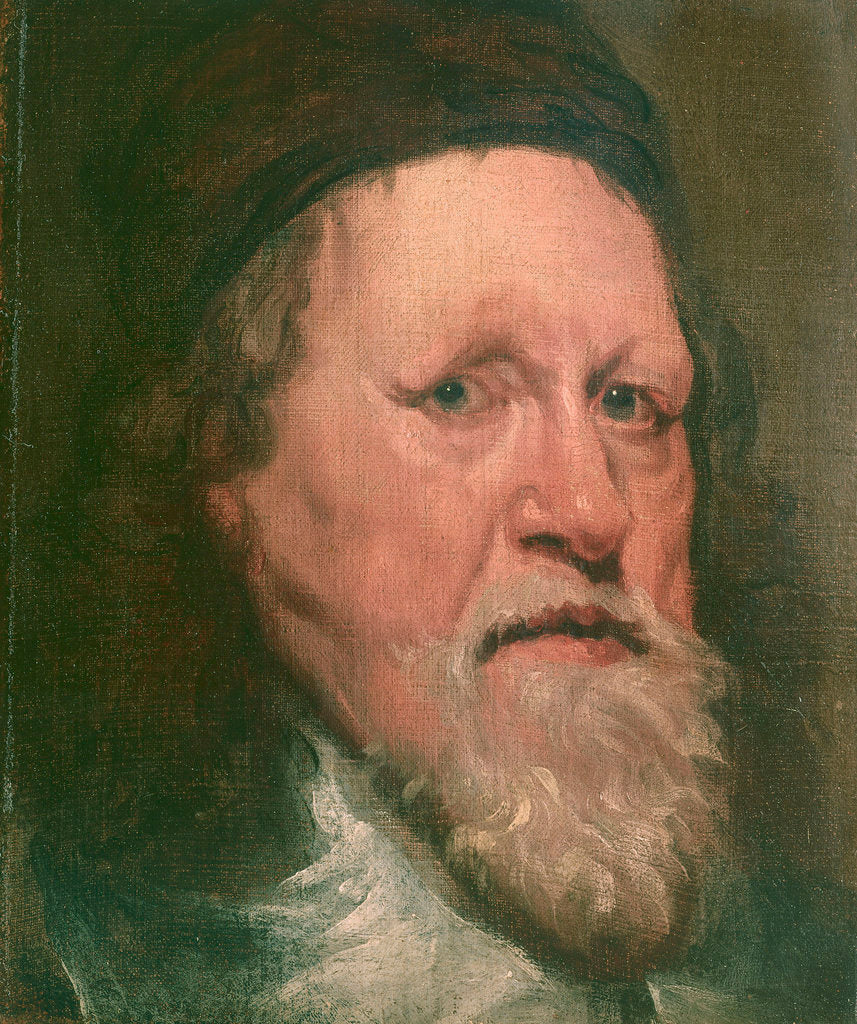 Detail of Inigo Jones (1573-1652) by William Dobson