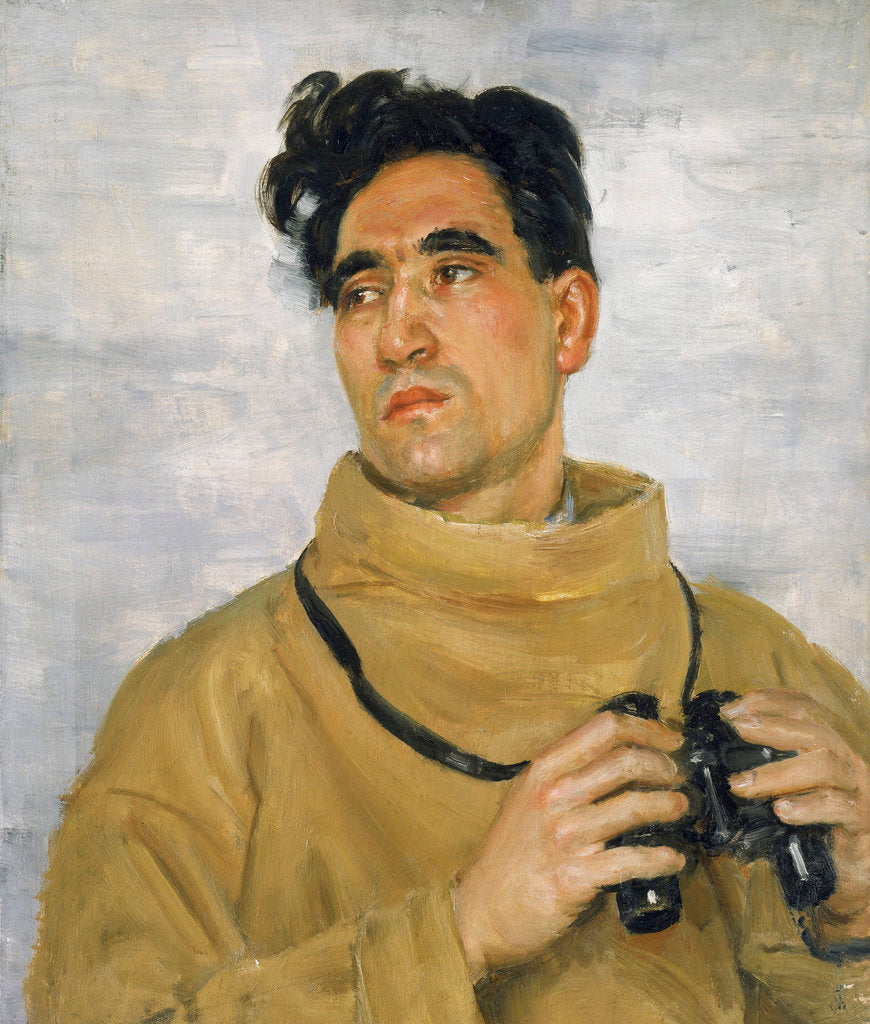 Detail of W. M. Ladbrooke, Able Seaman, Merchant Navy (active 1939-1945) by Bernard Hailstone