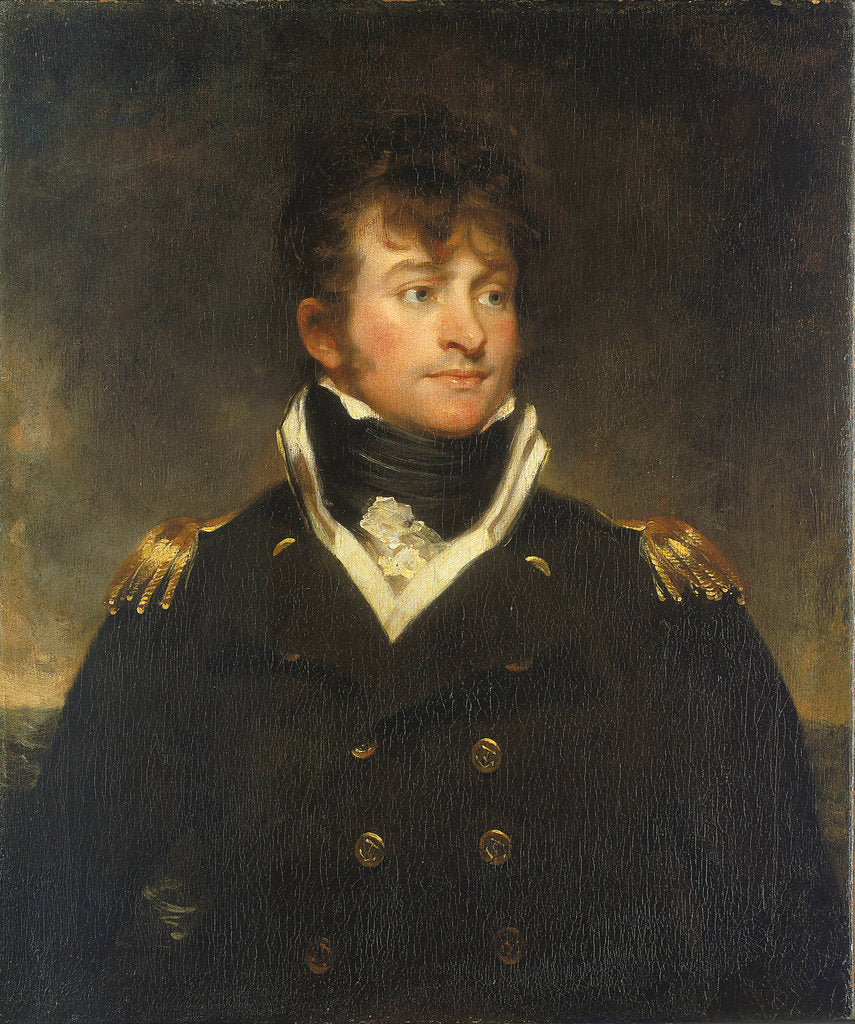 Detail of Captain Samuel Hood Linzee (1773-1820) by Martin Archer Shee