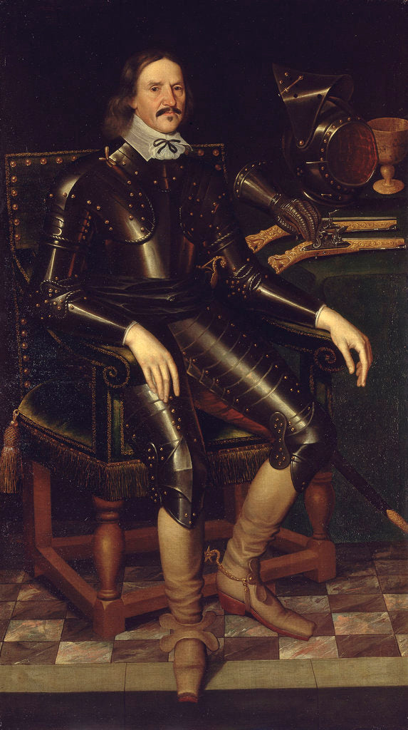 Detail of Sir Michael Livesey (1611-1663?) by unknown