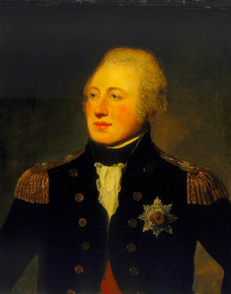 Detail of Vice Admiral Mitchell by Lemuel Francis Abbott