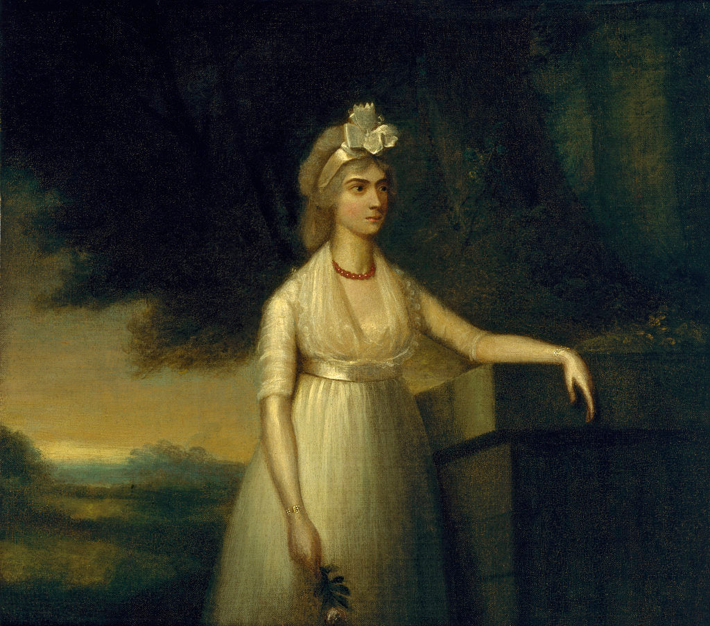 Detail of Frances Nelson, 1st Viscountess Nelson (1761-1831) by British School