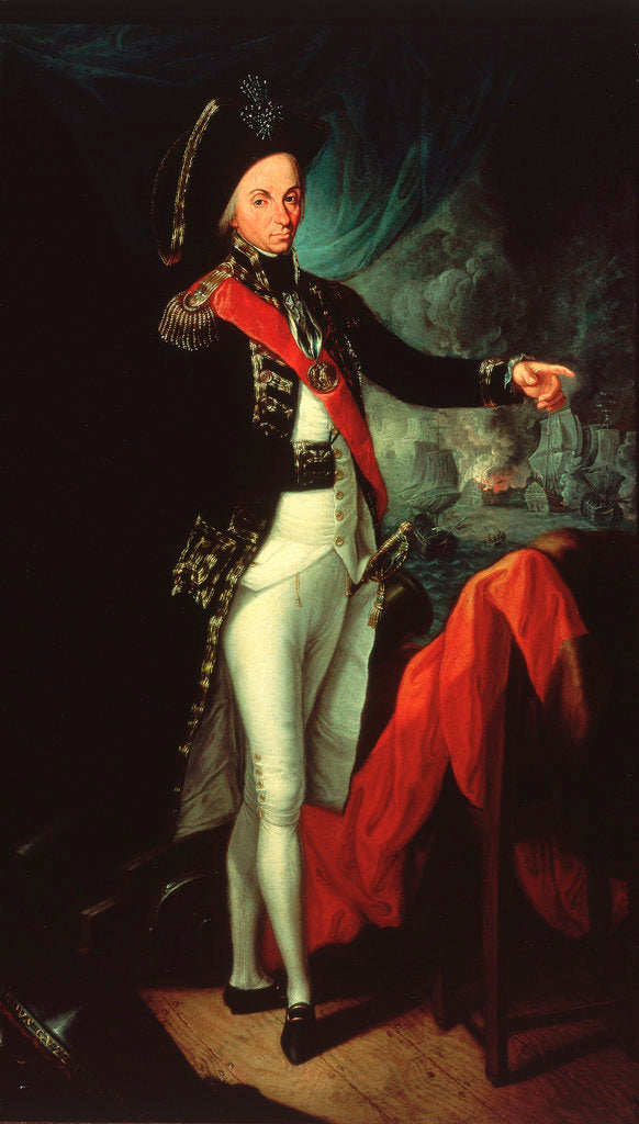 Rear-Admiral Horatio Nelson, 1st Baron Nelson of the Nile, (1758-1805) by Leonardo Guzzardi