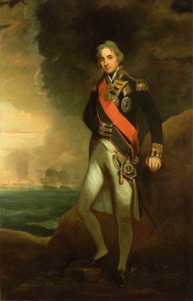 Detail of Rear-Admiral Horatio Nelson, 1st Viscount Nelson (1758-1805) by Matthew Shepperson