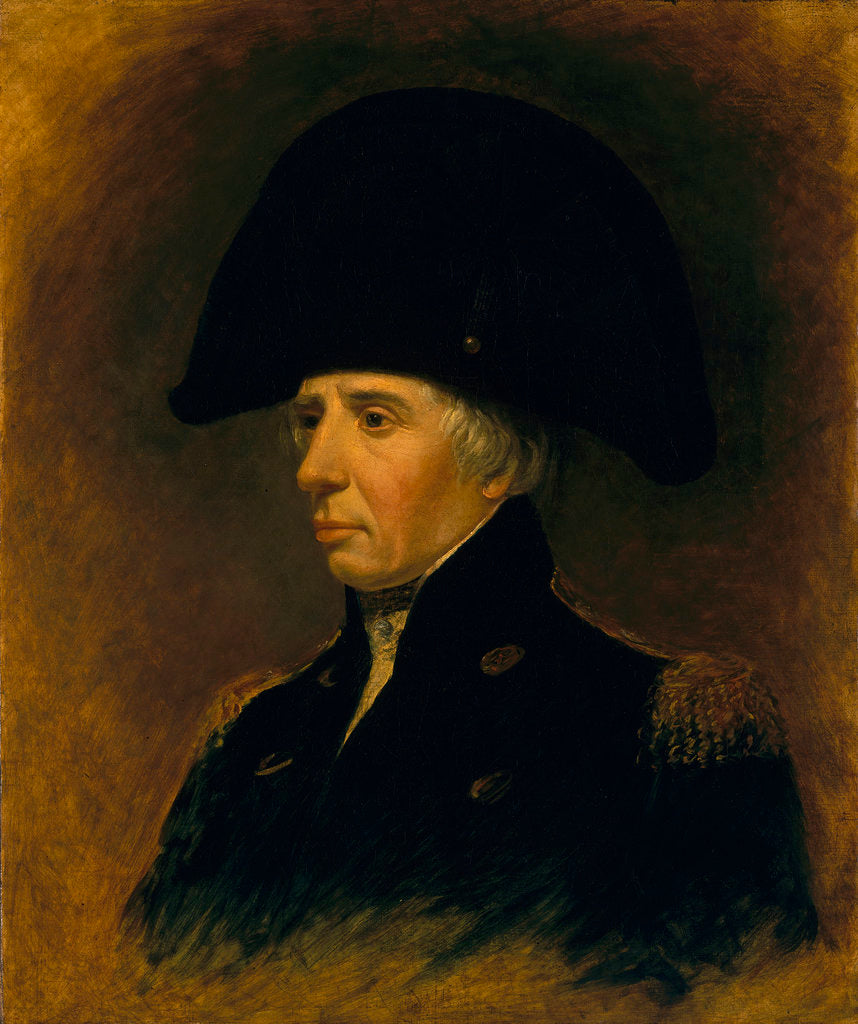 Detail of Vice-Admiral Horatio Nelson, 1st Viscount Nelson (1758-1805) by Matthew H. Keymer