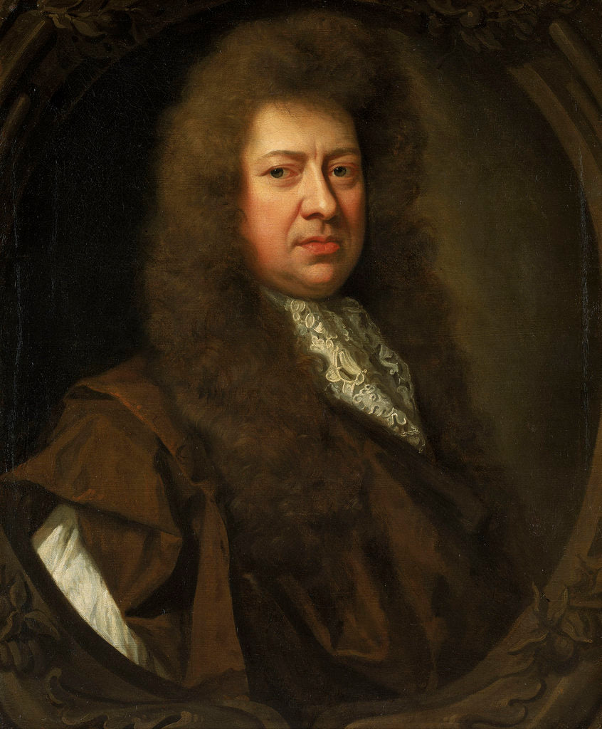 Detail of Samuel Pepys (1633-1703) by Godfrey Kneller