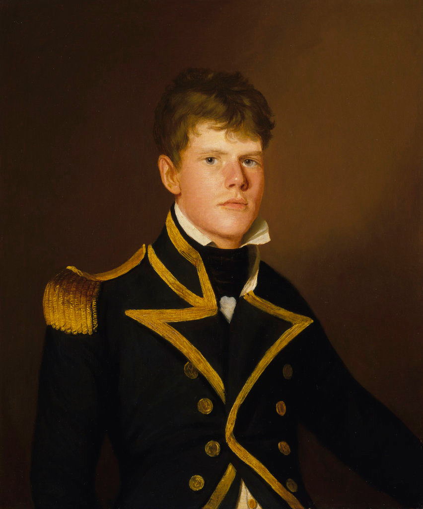Detail of Captain Peter Rainier (1784-1836) by Thomas Hickey