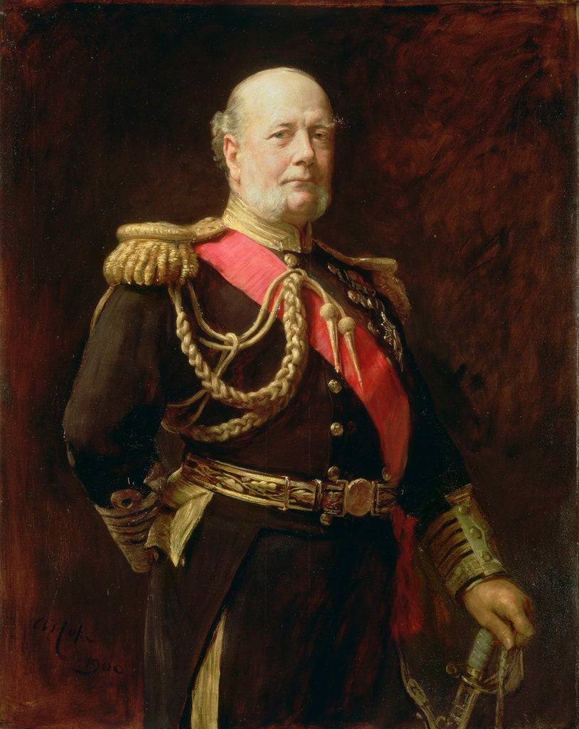 Detail of Admiral Sir Frederick Richards (1833-1912) by Arthur Stockdale Cope