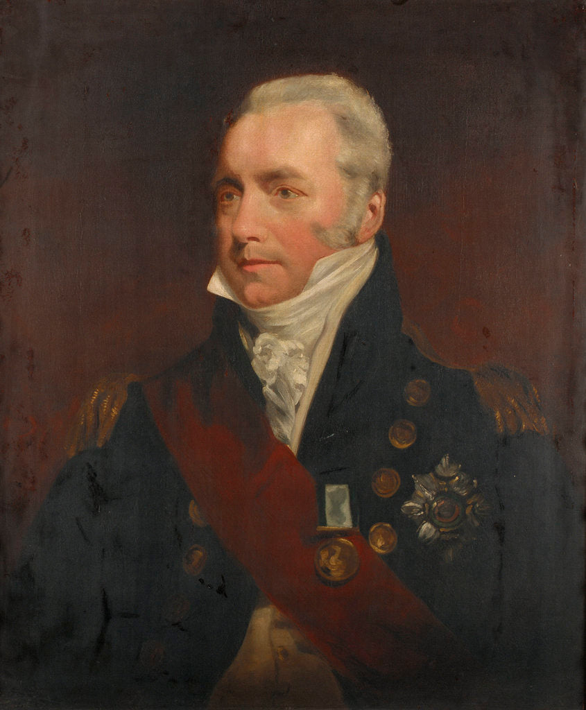 Detail of Vice-Admiral Sir Richard Goodwin Keats (1757-1834) by John Jackson