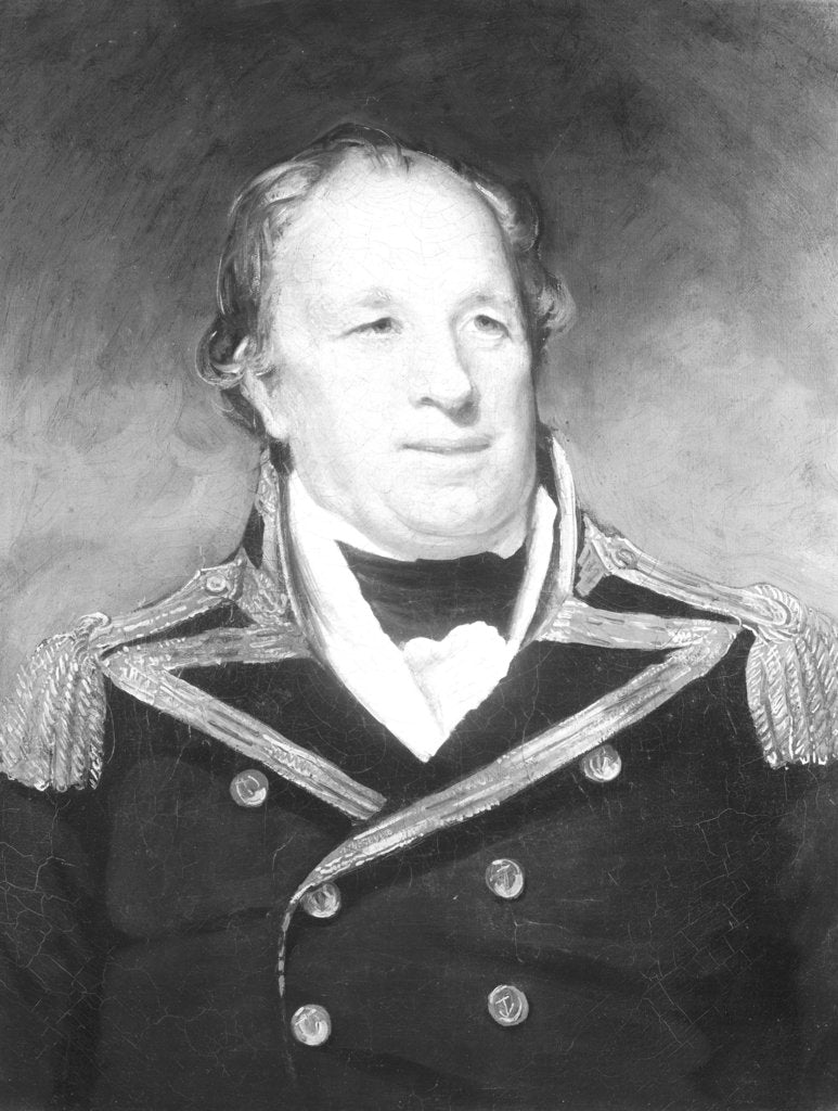 Detail of Captain John Schank (1740-1823) by unknown