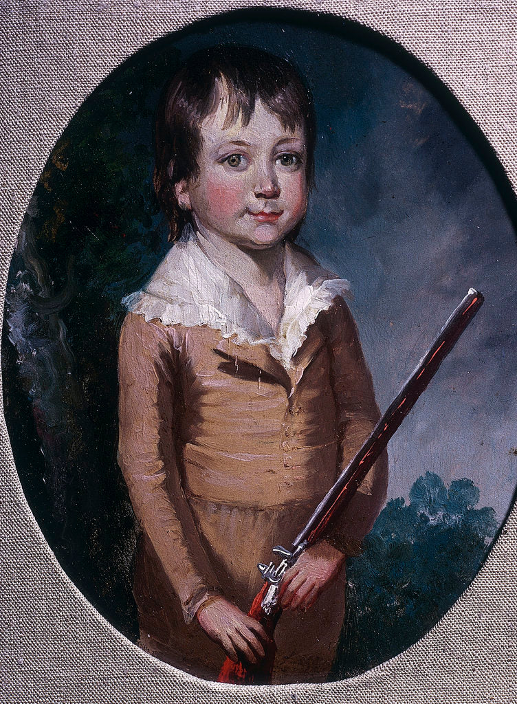 Detail of Sir Robert Seppings, when a boy (1767-1840) by unknown