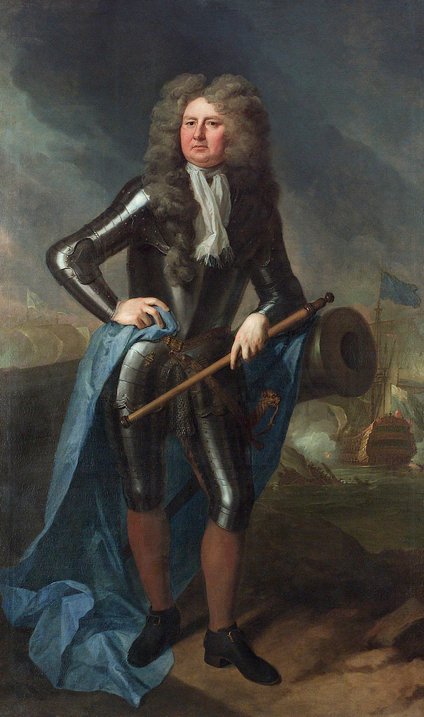 Admiral Sir Cloudesley Shovell (1650-1707) by Michael Dahl
