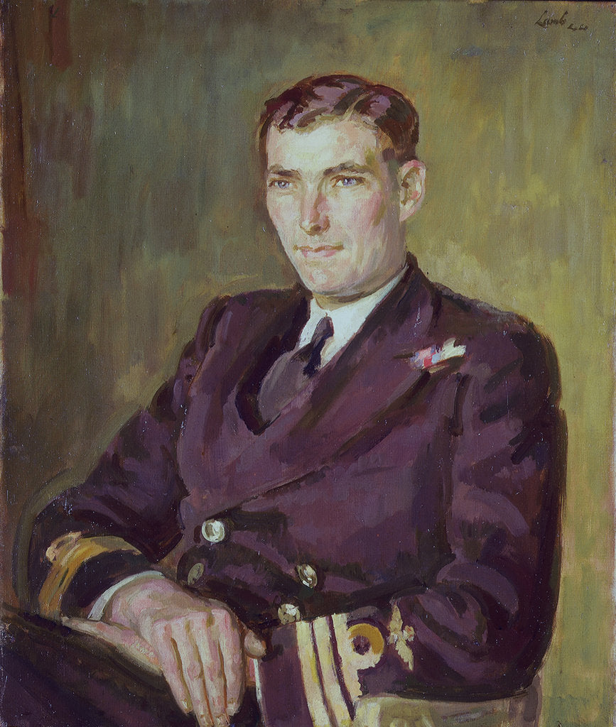 Detail of Captain Michael Torrens-Spence (1914-2001) by Henry Lamb