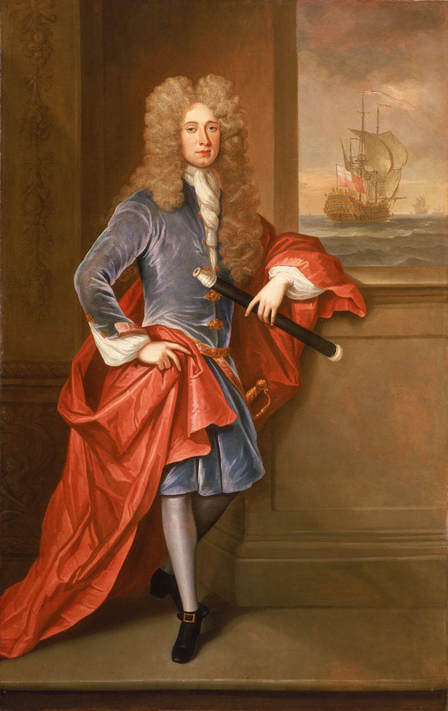 Detail of Isaac Townsend (d.1765) by British School