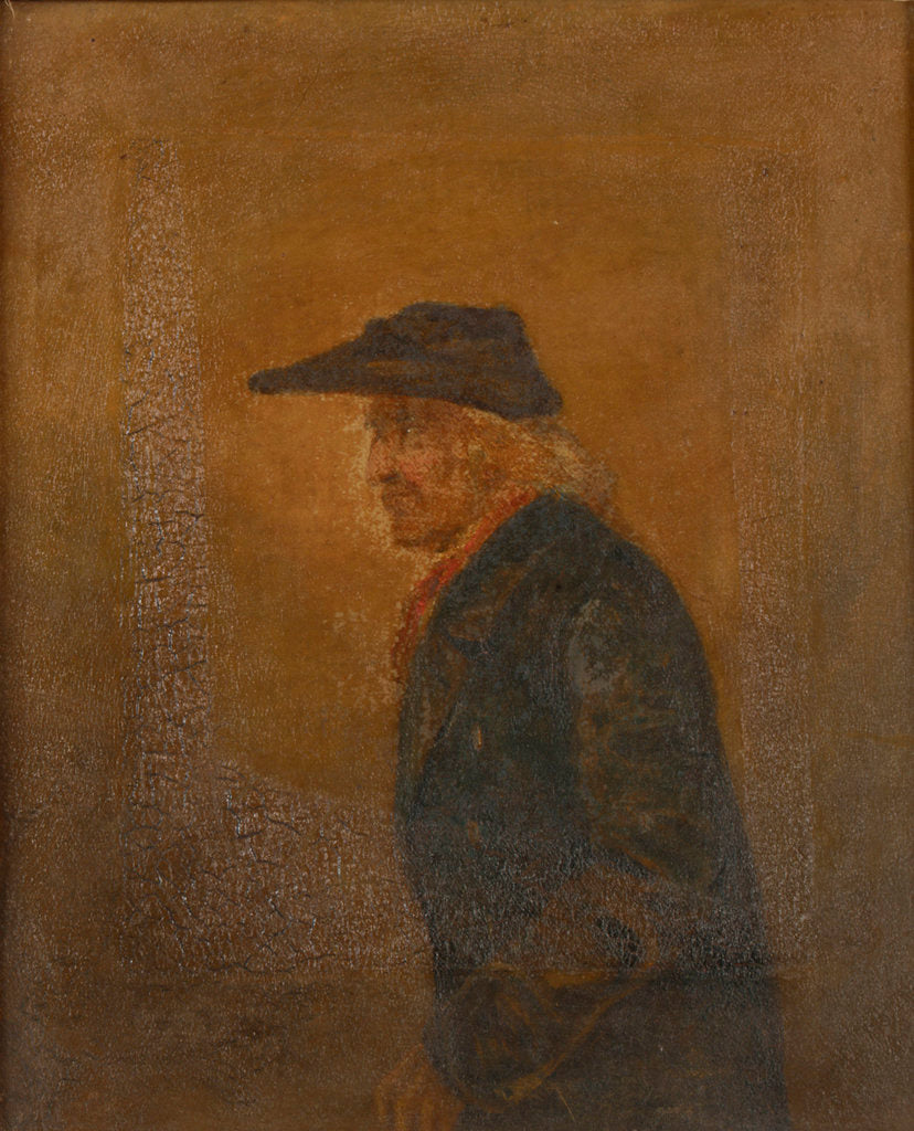Portrait of a Greenwich Pensioner by John Burnet