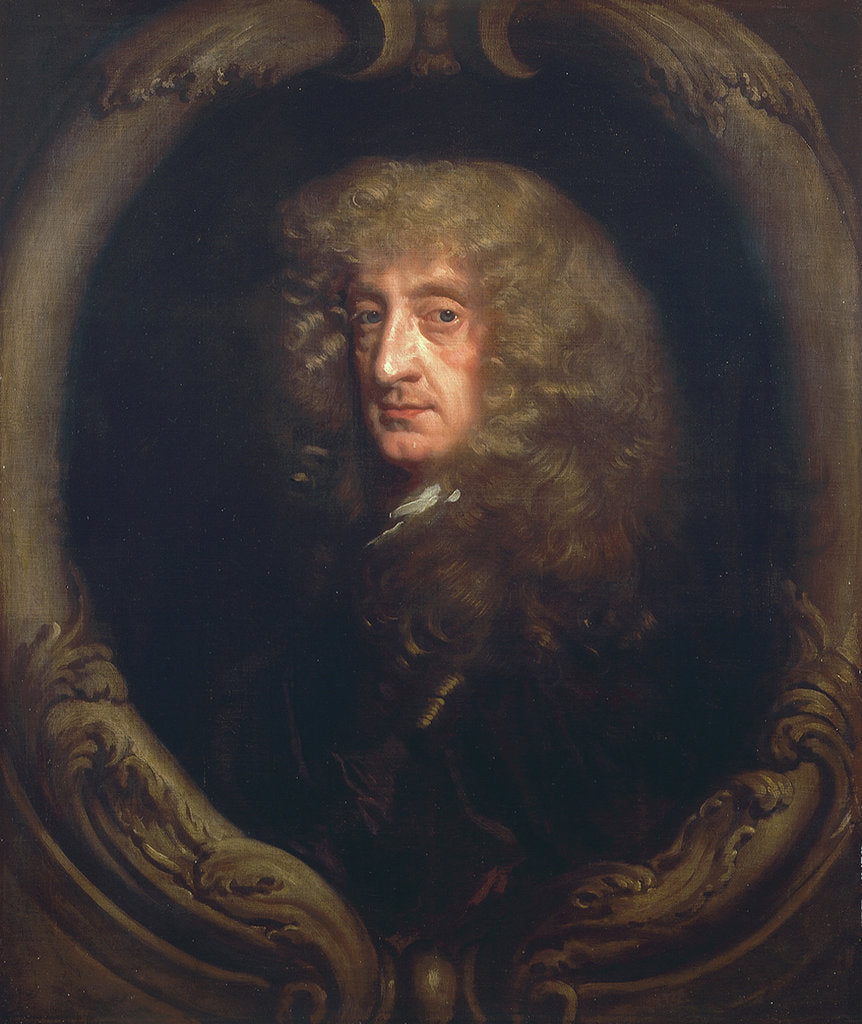 Detail of Portrait of a gentleman by Peter Lely