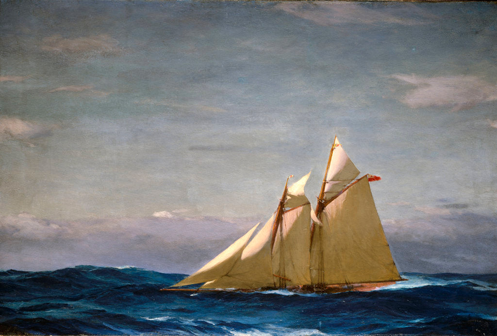 The yacht 'America' by John Fraser