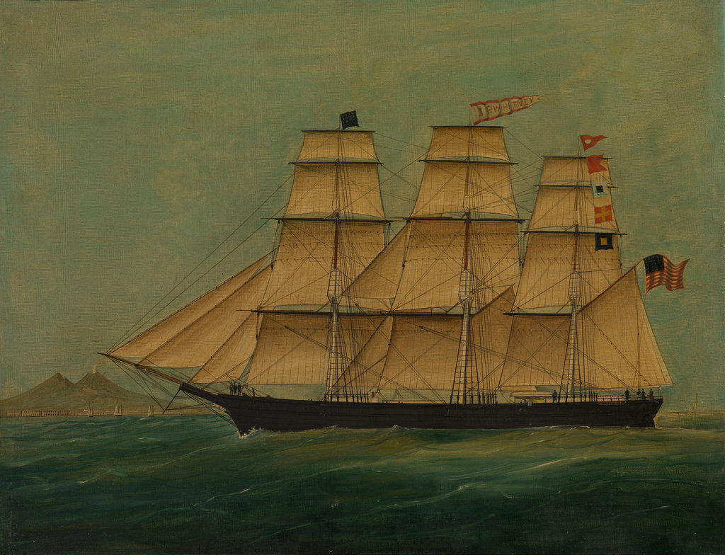 Detail of The ship J. P. Witney by American School