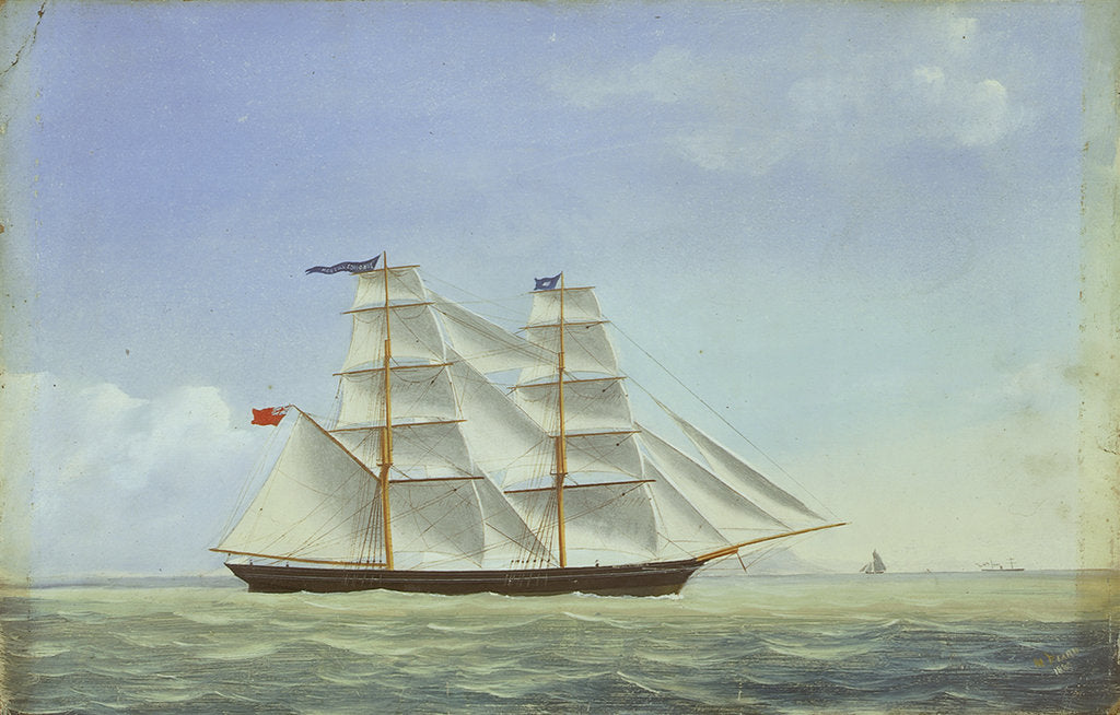 The brig 'Martha Edmonds' by W. Pearn