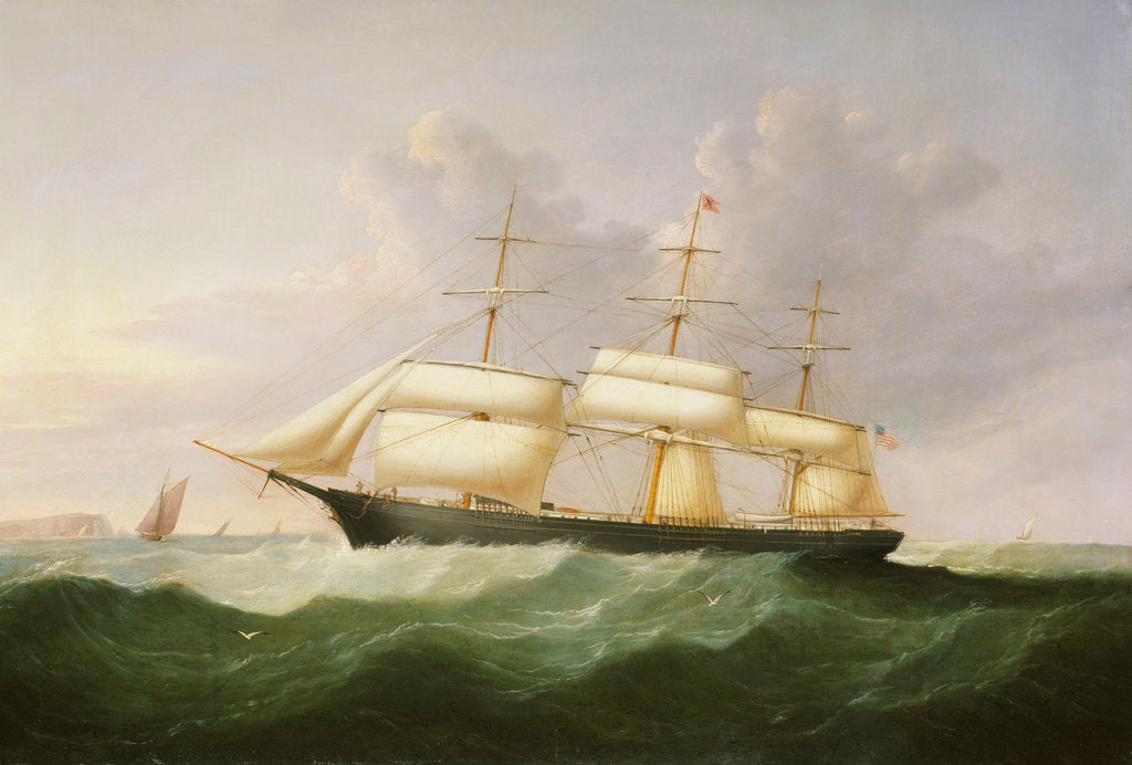 Detail of The ship 'Palestine' by Samuel Walters