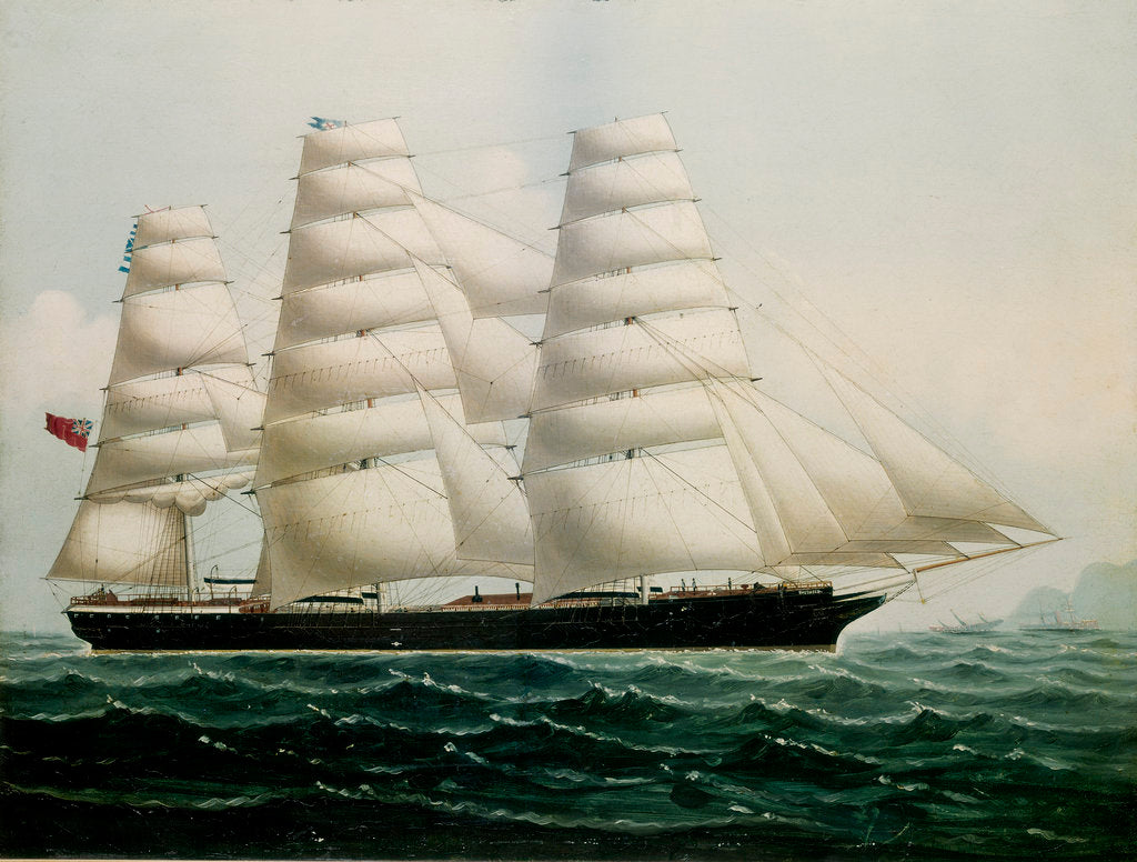 Detail of The ship 'The Tweed' by Chinese School