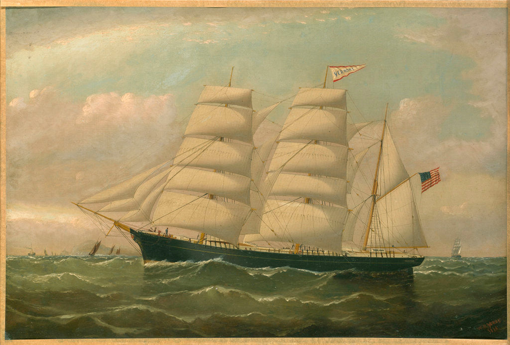 The clipper 'Vermont' by William Horde Yorke