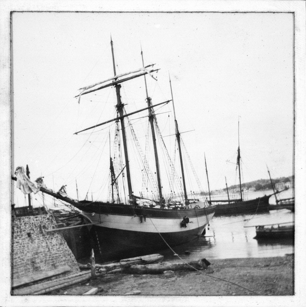 Detail of Schooner 'WML' by unknown