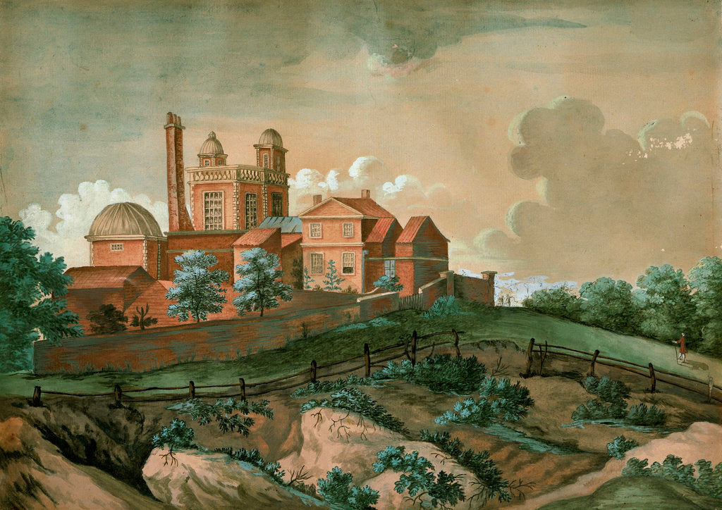 Detail of View of the Royal Observatory, Greenwich by unknown