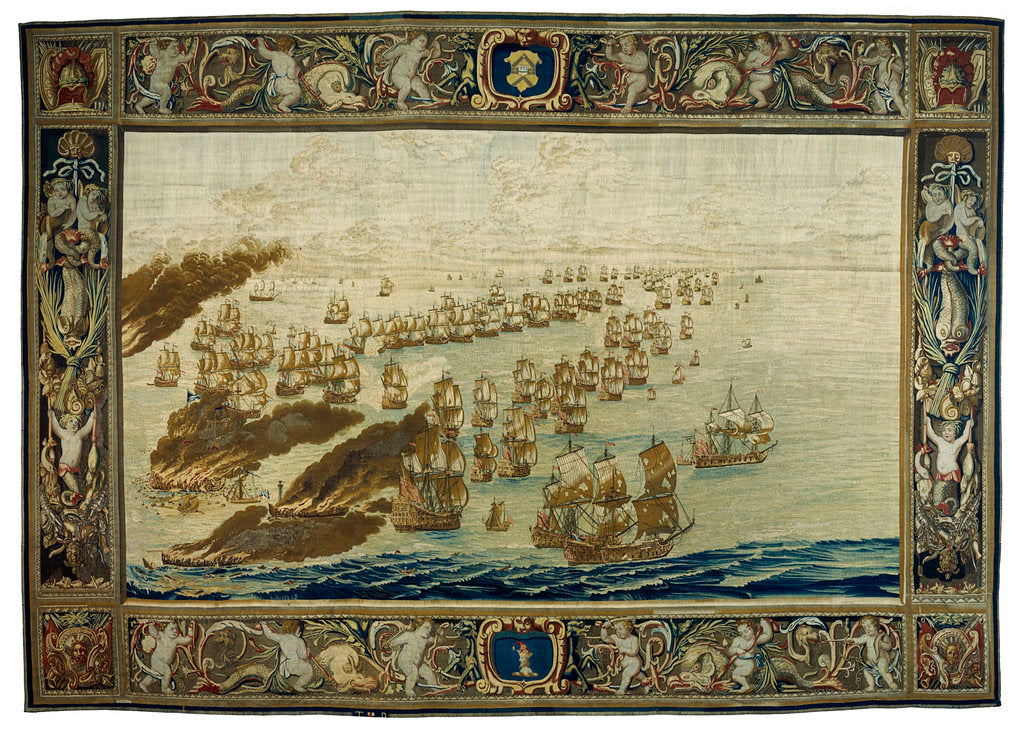 Detail of Mortlake Tapestry by Thomas Poyntz