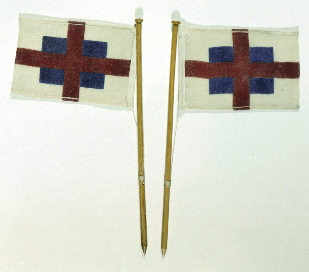 Detail of House flag, Green's Blackwall line by unknown