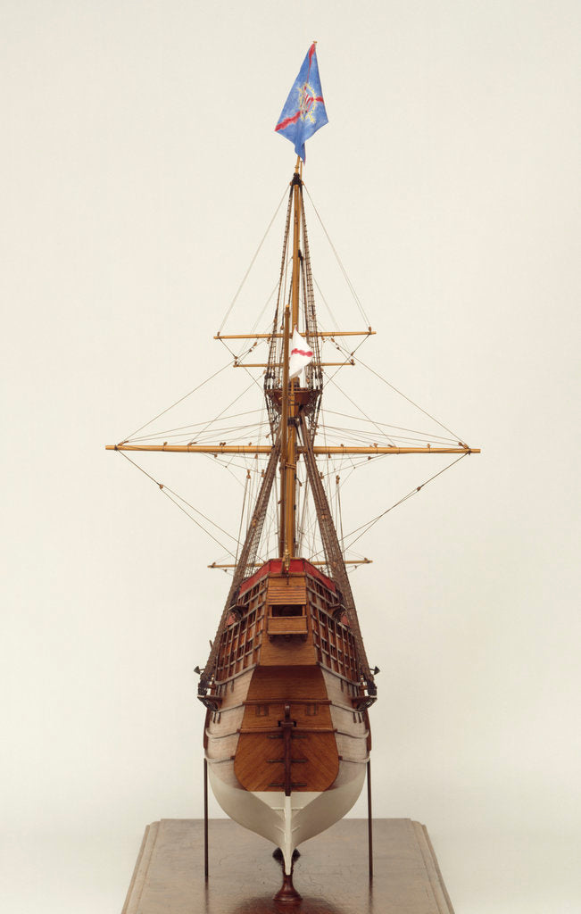 Detail of Spanish Galleon by Philip Wride