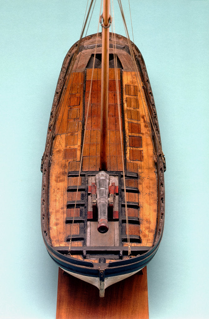 Detail of Gunboat by unknown