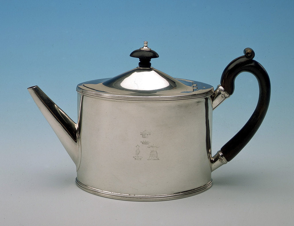 Detail of Teapot by William Plummer
