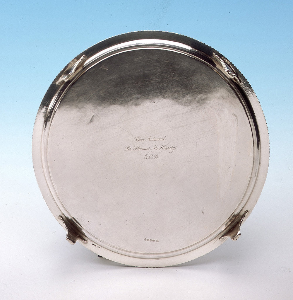 Salver by Thomas Hannam