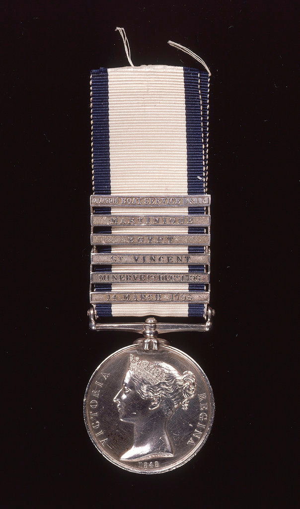 Detail of Naval General Service Medal 1793-1840 by W. Wyon