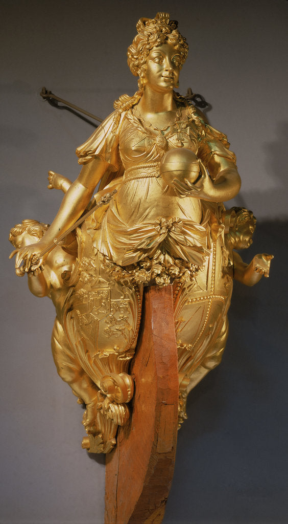 Detail of Figurehead of 'Royal Charlotte' (1824) [Queen Charlotte] by unknown