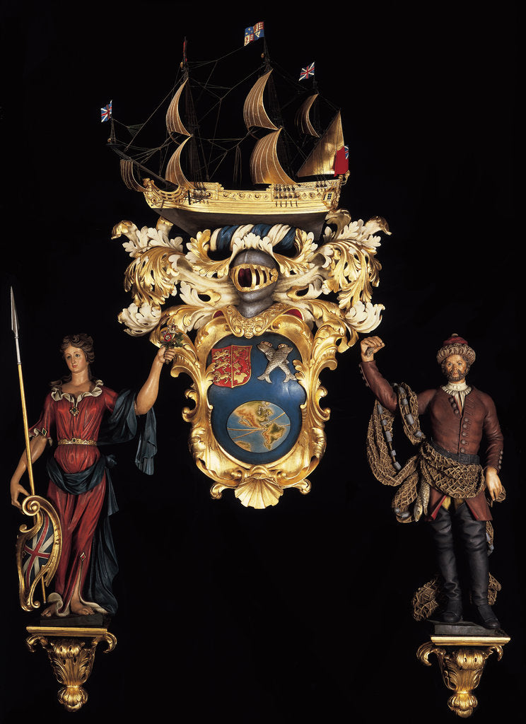 Coat of Arms of the South Sea Company by Robert Jones