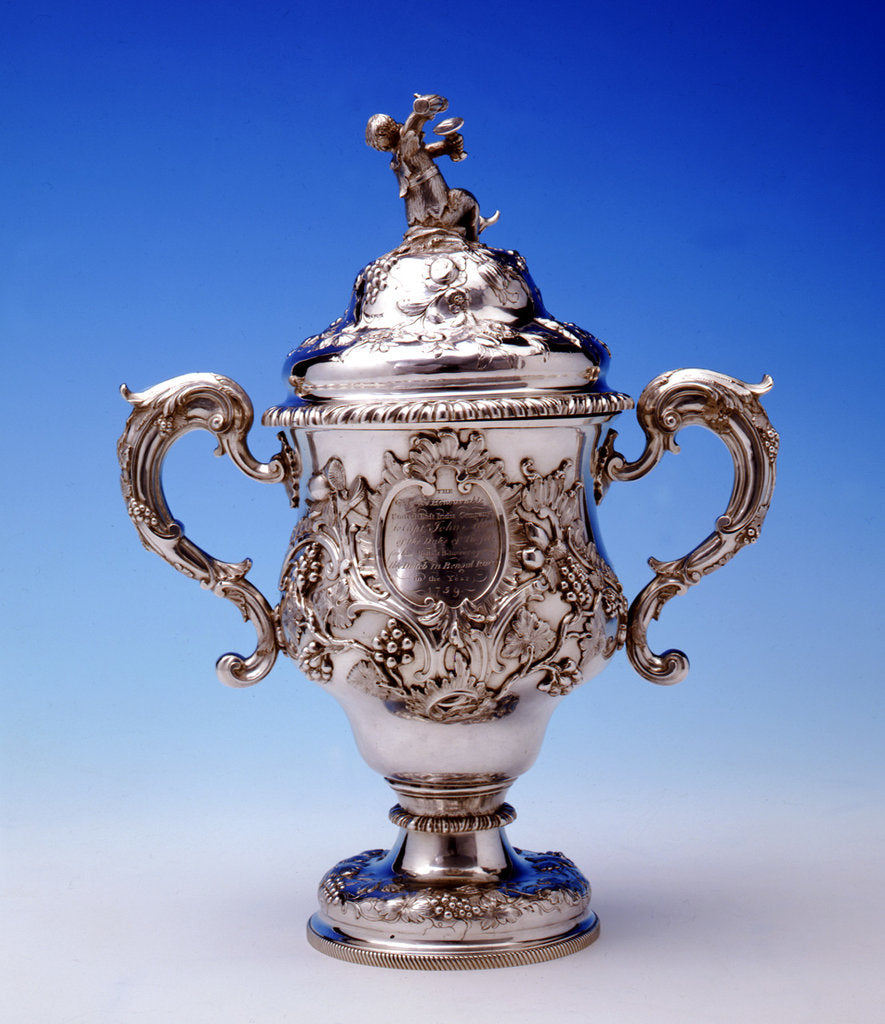Detail of Cup by William Cripps