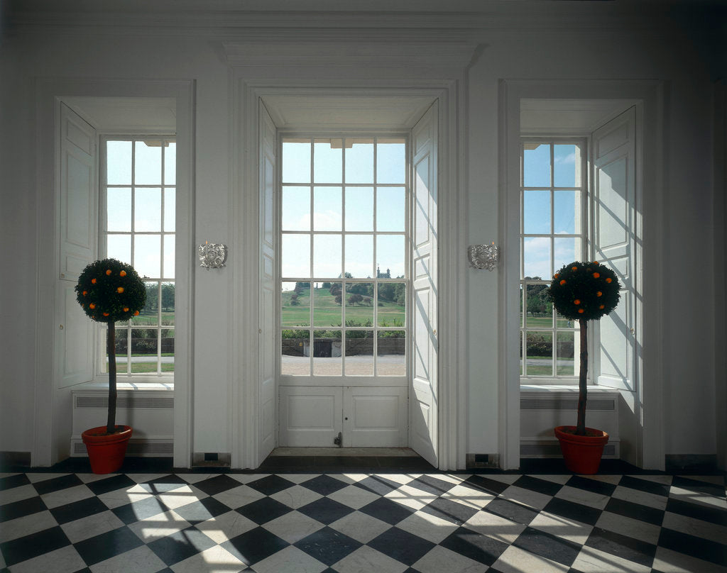 Detail of The Orangery, the Queen's House interior by unknown