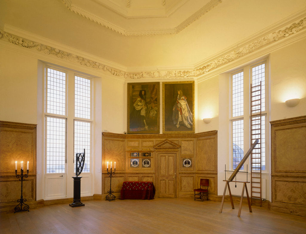 Detail of Octagon Room, Flamsteed House at Royal Observatory, Greenwich by National Maritime Museum Photo Studio
