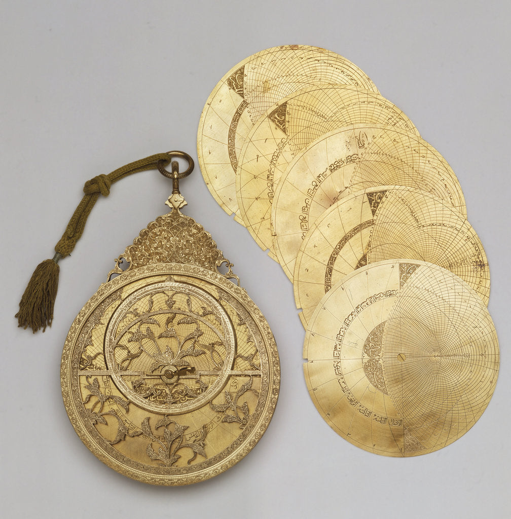 Detail of Astrolabe and Plates by Muhammad Khalil