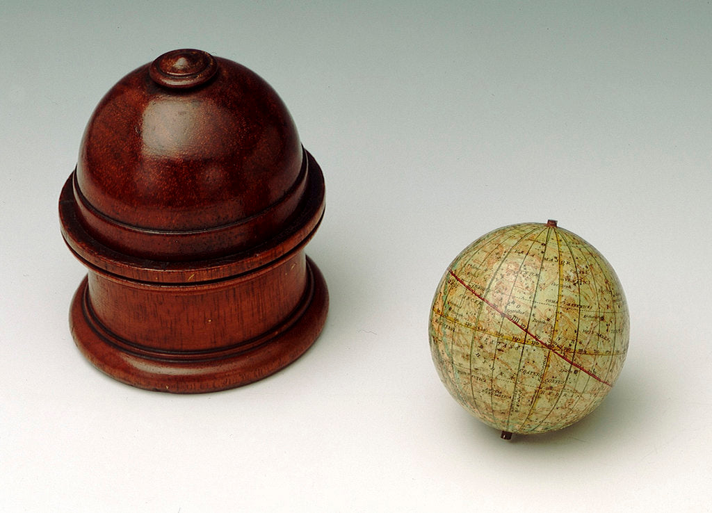 Detail of Sphere and stand by Edward Stanford