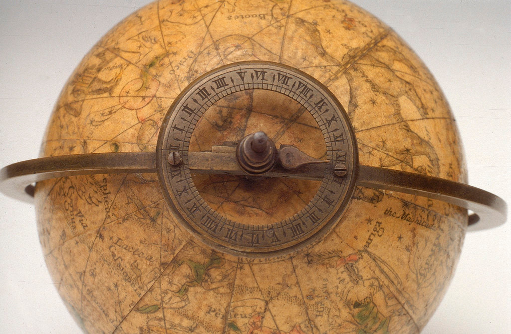 Detail of Hour circle with pointer by John Senex