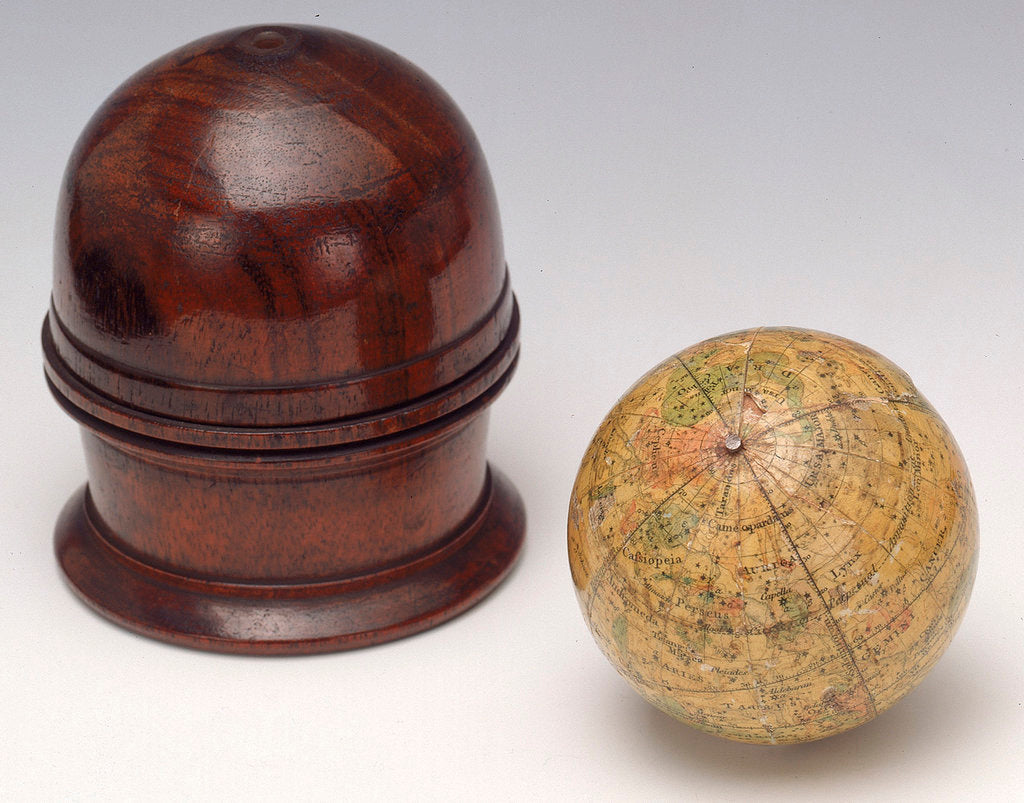 Detail of Sphere and case by Newton & Co.