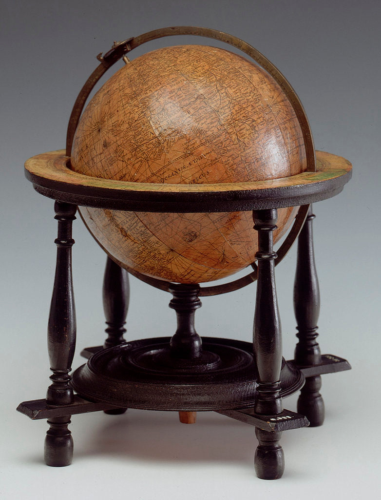 Detail of Sphere and stand by Isaac Habrecht II