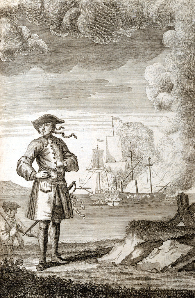 Detail of Captain Edward England by unknown