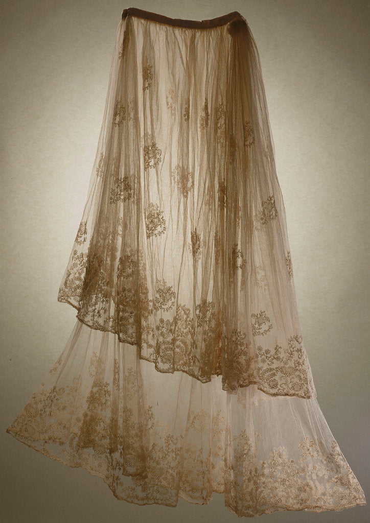 Detail of Overskirt by unknown