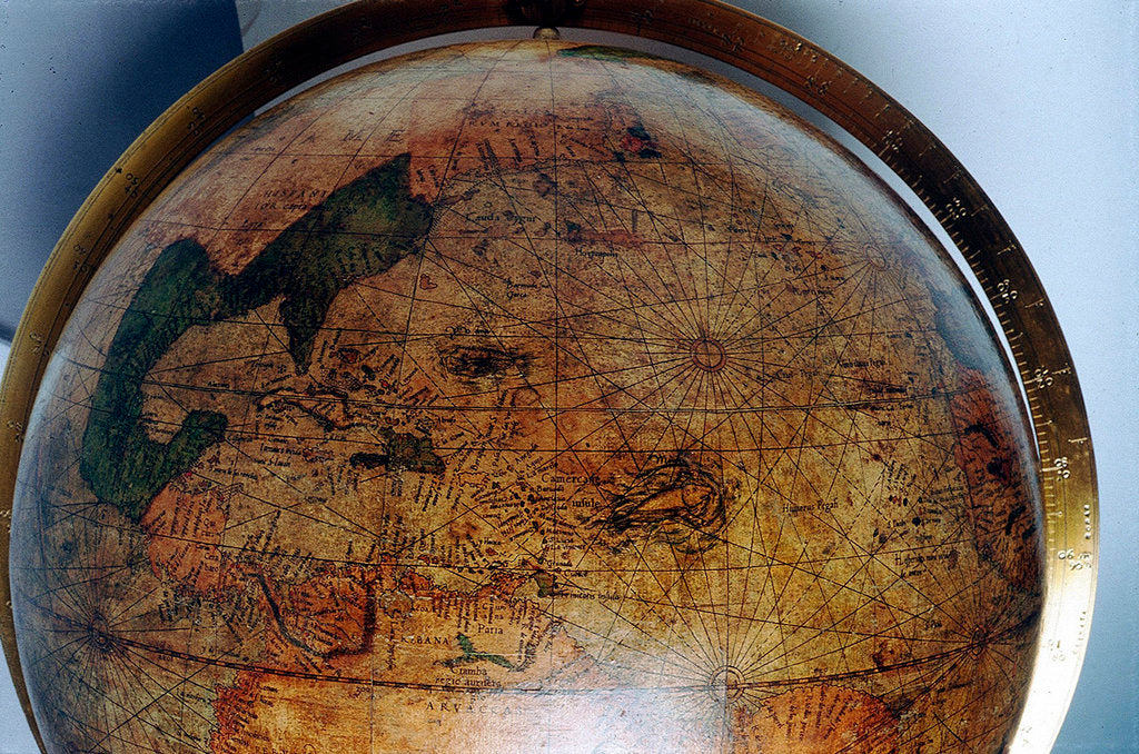 Detail of North America by Gerard Mercator