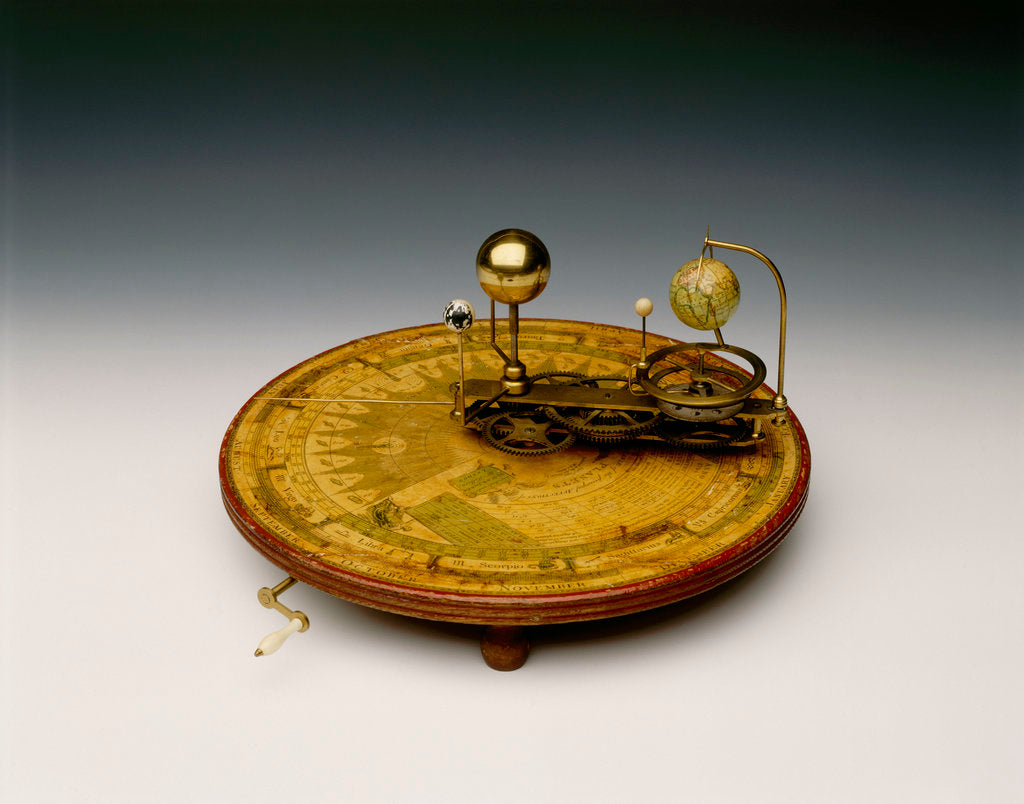 Detail of Orrery by William Jones